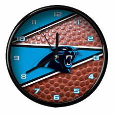 Officially Licensed Carolina Panthers Team Football Clock