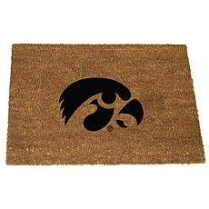 Officially Licensed Colored Logo Door Mat - Iowa