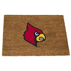 Officially Licensed Colored Logo Door Mat - Louisville