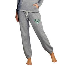 Officially Licensed Concepts Sport Ladies' Knit Jogger Pant - Jets