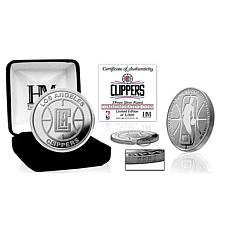 Officially Licensed LA Clippers Silver Mint Coin