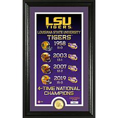 Officially Licensed LSU 4x National Champions Legacy Coin Photo Mint