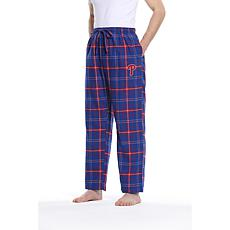 Officially Licensed Men's Flannel Pant by Concepts Sport - Phillies