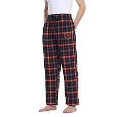 Officially Licensed Men's Plaid Flannel Pant by Concept Sports - Bears