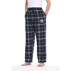 Officially Licensed Men's Plaid Flannel Pant by Concepts Sport-Yankees