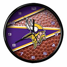 Officially Licensed Minnesota Vikings Team Football Clock