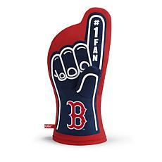 Officially Licensed MLB #1 Fan Oven Mitt - Boston Red Sox