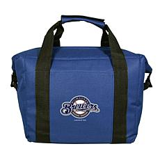 Officially Licensed MLB 12-Can Cooler Bag - Milwaukee Brewers