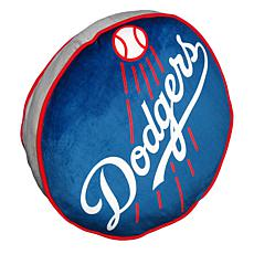 """Officially Licensed MLB 148 Travel Cloud 15"""" Pillow - Dodgers"""