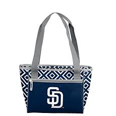 Officially Licensed MLB 16-Can Cooler Tote - San Diego Padres