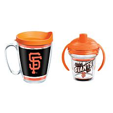 Officially Licensed MLB 16oz. Coffee Mug and 6oz. Sippy Cup - Giants