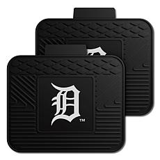 Officially Licensed MLB 2-Piece Utility Mat Set - Detroit Tigers