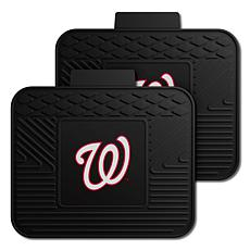 Officially Licensed MLB 2-Piece Utility Mat Set-Washington Nationals