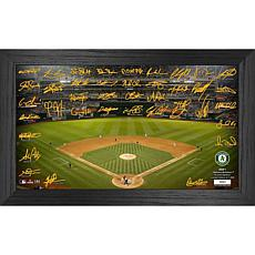 Officially Licensed MLB 2021 Signature Field Photo Frame - Oakland