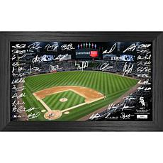 Officially Licensed MLB 2021 Signature Field Photo Frame - White Sox