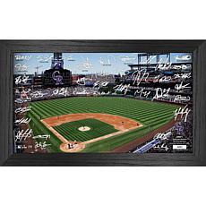 Officially Licensed MLB 2021 Signature Field Photo Frame - Colorado