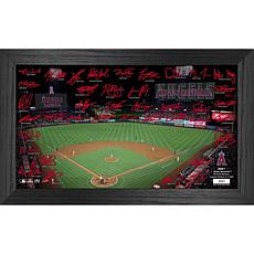 Officially Licensed MLB 2021 Signature Field Photo Frame - LA Angels