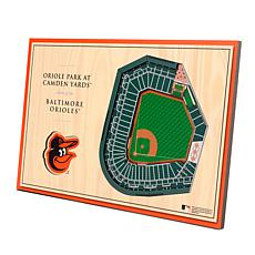 Officially-Licensed MLB 3-D StadiumViews Display - Baltimore Orioles