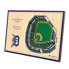 Officially-Licensed MLB 3-D StadiumViews Display - Detroit Tigers