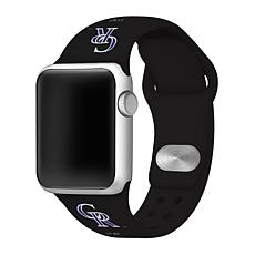 Officially Licensed MLB 38/40mm Apple Watch Band - Cleveland Indians