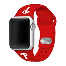 Officially Licensed MLB 38/40mm Apple Watch Band - Phila. Phillies