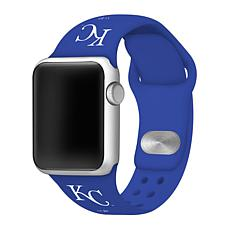 Officially Licensed MLB 38/40mm Silicone Apple Watchband - Royals