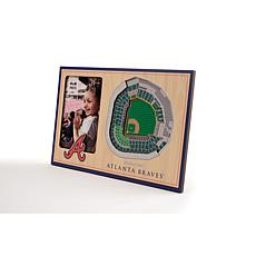 Officially Licensed MLB 3D StadiumViews Frame - Atlanta Braves