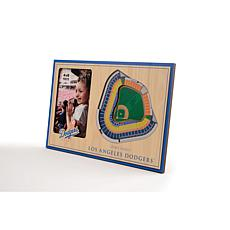 Officially Licensed MLB 3D StadiumViews Frame - Los Angeles Dodgers