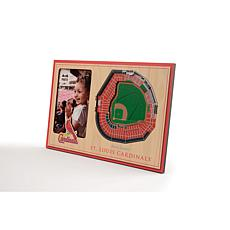 Officially Licensed MLB 3D StadiumViews Frame - St. Louis Cardinals