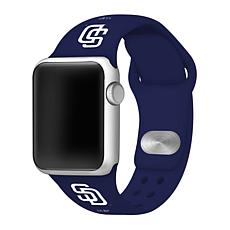 Officially Licensed MLB 42/44mm Apple Watch Band - San Diego Padres