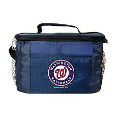 Officially Licensed MLB 6-Can Cooler Bag - Washington Nationals