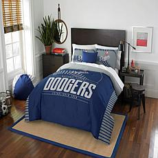 Officially Licensed MLB 849 Grand Slam F/Q Comforter Set - Dodgers