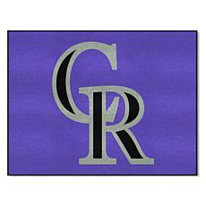 Officially Licensed MLB All-Star Door Mat - Colorado Rockies