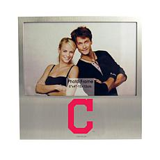 Officially Licensed MLB Aluminum Picture Frame - Cleveland Indians