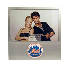 Officially Licensed MLB Aluminum Picture Frame - New York Mets