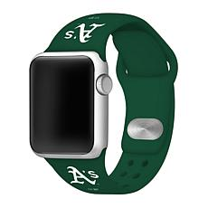 Officially Licensed MLB Apple Watchband 42/44mm - Oakland Athletics
