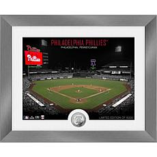 Officially Licensed MLB Art Deco Silver Coin Photo Mint - Philadelphia