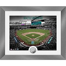 Officially Licensed MLB Art Deco Silver Coin Photo Mint - Seattle