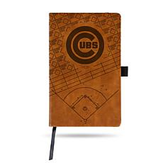 Officially Licensed MLB Brown Notepad - Chicago Cubs