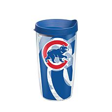 Officially Licensed MLB Chicago Cubs Genuine 16 oz. Tumbler w/Lid