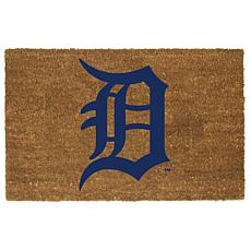 Officially Licensed MLB Colored Logo Door Mat - Tigers