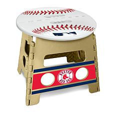 Officially Licensed MLB Folding Step Stool - Boston Red Sox