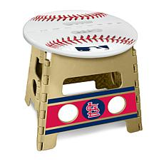 Officially Licensed MLB Folding Step Stool - St. Louis Cardinals