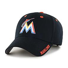 Officially Licensed MLB Frost Adjustable Hat  - Miami Marlins