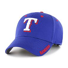 Officially Licensed MLB Frost Adjustable Hat  - Texas Rangers