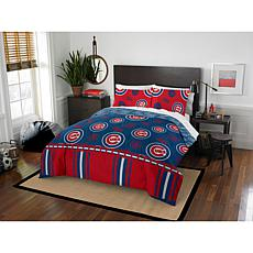 Officially Licensed MLB Full Bed in a Bag Set - Chicago Cubs