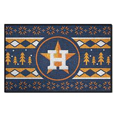 Officially Licensed MLB Holiday Sweater Mat - Houston Astros