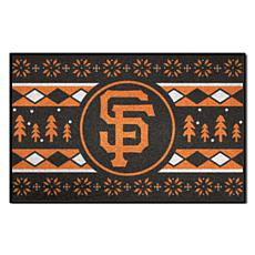 Officially Licensed MLB Holiday Sweater Mat - San Francisco Giants
