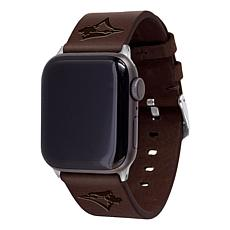 Officially Licensed MLB Leather Band for Apple Watch 42/44mm - Toronto