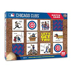 Officially Licensed MLB Licensed Memory Match Game - Chicago Cubs